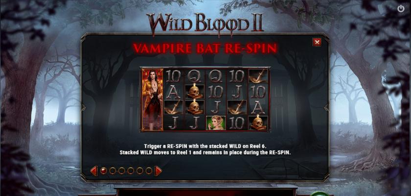 Wild Blood 2 - Vampire Bat Re-Spin