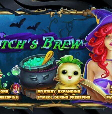 พบกับ slot game สุดฮิตกับ Witch's Brew
